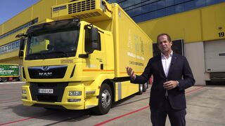 El primer camión 100% eléctrico MAN eTGM ya rueda por España