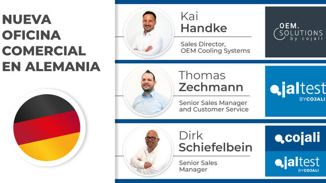 Cojali abre una nueva oficina comercial en Alemania