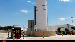 HAM inaugura una gasinera fija en Valencia