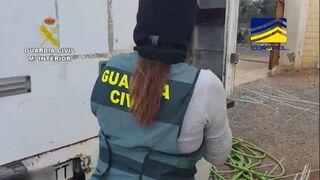 La Guardia Civil desarticula  una red que usaba furgonetas de alquiler para el narcotráfico