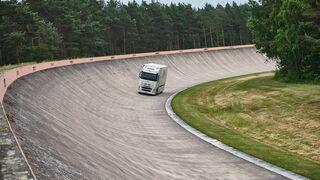 Un camión eléctrico alcanza el récord de distancia recorrida sin recargar
