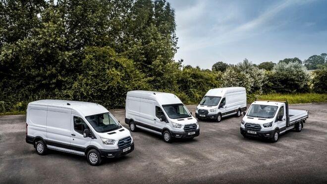 Comienzan las pruebas de la Ford E-Transit en Europa