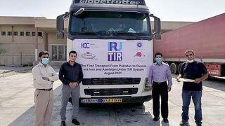 La ruta TIR entre Moscú y Pakistán reduce el tiempo de transporte en un 76%