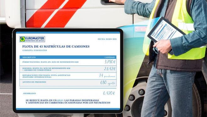 Euromaster propone el mantenimiento predictivo para ahorrar hasta 159 euros por camión