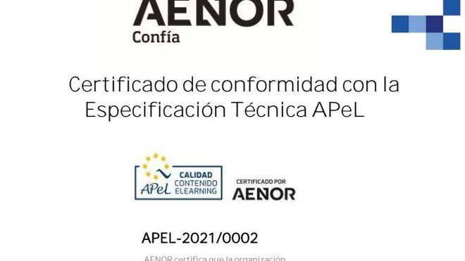 AT Academia del Transportista recibe el sello APeL-Aenor