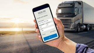 Volvo lanza un dispositivo móvil de pago