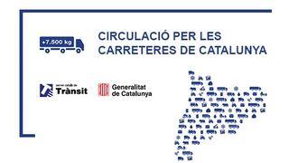 Cataluña confirma la prohibición a camiones en la AP-7 los domingos entre las 17 y las 22 horas