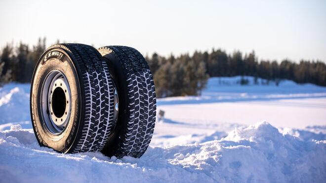 """Michelin lanza X Multi Grip, neumático de camión para inviernos """"duros"""""""