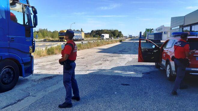 Denunciado un camionero cuando circulaba con 13.000 euros en billetes fraccionados