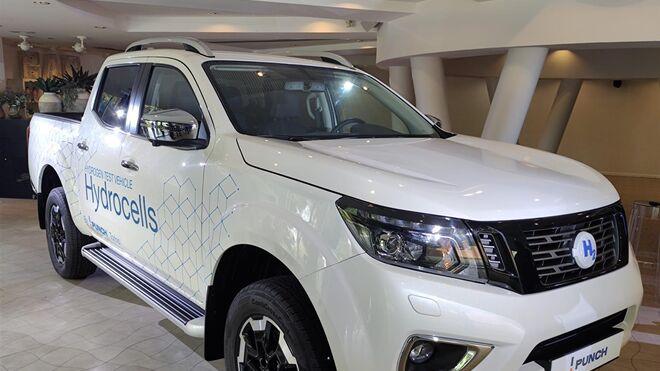 Punch muestra el pickup de hidrógeno que produciría en la planta de Nissan en Barcelona