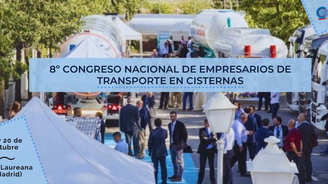 El Congreso Nacional de Empresarios de Transporte en Cisternas se celebra el 19 y 20 de octubre