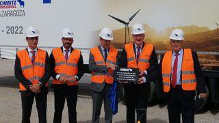 Schmitz Cargobull redobla su atención por España tras invertir 19 millones en su nueva fábrica