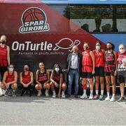 OnTurtle, patrocinador del equipo de básquet femenino Spar Girona