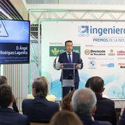 El presidente de Iveco, premio de Honor del Colegio de Ingenieros de Valladolid