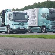 Al volante de los FH y FMX eléctricos de Volvo Trucks