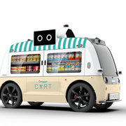 El food truck autónomo de Network circulará en las Rozas, Madrid