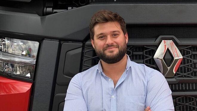 Diego de Soto, responsable de Transport Solutions de Renault Trucks