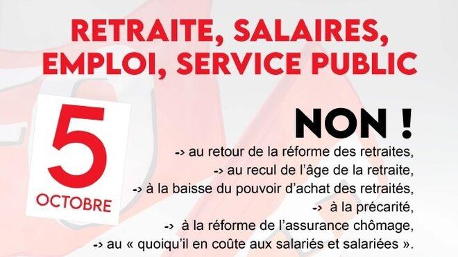 Los sindicatos franceses convocan una huelga general