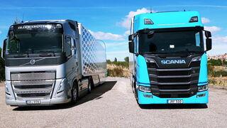 Scania R 590 Highline y Volvo FH 460 I-Save Globetrotter
