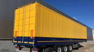 TOP 5 de semirremolques furgones hasta septiembre