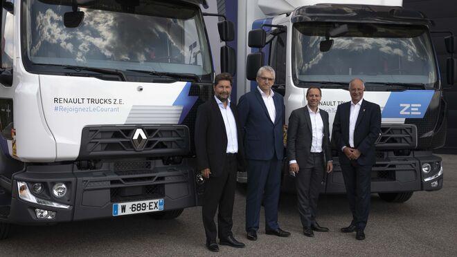 Renault Trucks entrega 20 camiones eléctricos a Urby