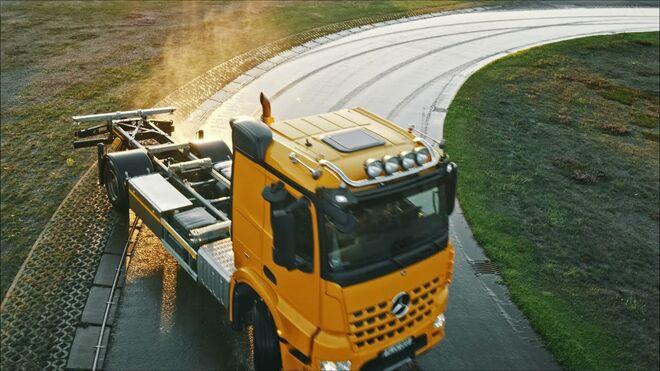 Visitamos el Contidrom: aquí prueba Continental sus neumáticos para camión