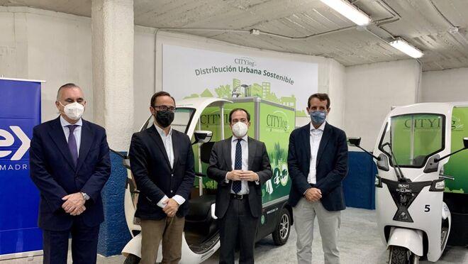 Madrid acoge un piloto logístico de reparto de bajas emisiones