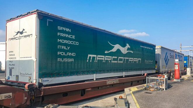 Marcotran se alía con Eco Raíl y la naviera CGM para explotar la autopista ferroviaria