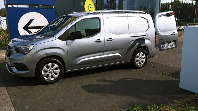 Tomamos el pulso al nuevo Opel Combo-e Cargo