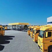Las diez empresas del transporte de mercancías por carretera más importantes de Murcia