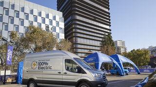 El futuro conectado de Ford con la E-Transit