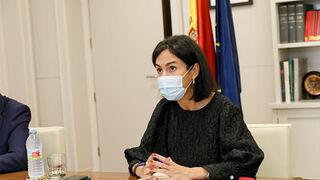 Isabel Pardo de Vera en su reunión con los consejeros autonómicos.