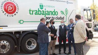 Alcobendas estrena el primer camión de limpieza eléctrico de Madrid