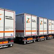Lecitrailer entrega diez lonas XL a Rafa Grau Transports