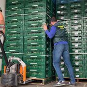 Once detenidos por transportar droga oculta en camiones de coliflores