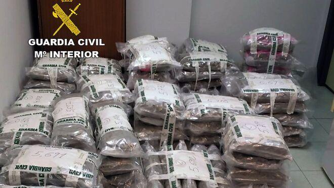 Cae otra banda que transportaba droga en camiones cargados de hortalizas