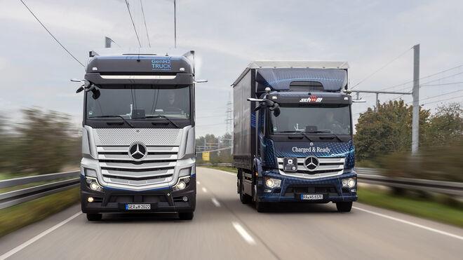 El camión de hidrógeno de Daimler Truck autorizado para circular por carretera