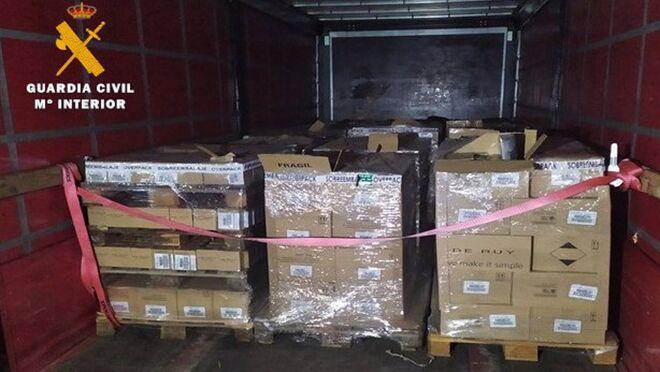 Detenido tras robar un camión con perfumes y cosméticos por valor de 10.000 euros
