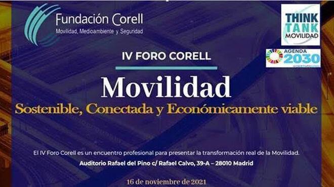 Fundación Corell organiza el IV Foro de Movilidad sostenible, conectada y viable