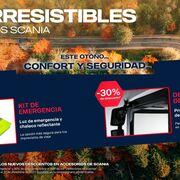 Scania lanza la campaña de accesorios 'Los irresistibles'