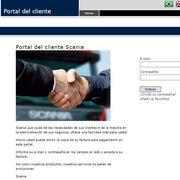 Scania presenta un nuevo portal web con opciones de pago digitales
